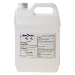 AvoClean Hand Sanitiser Gel 5L